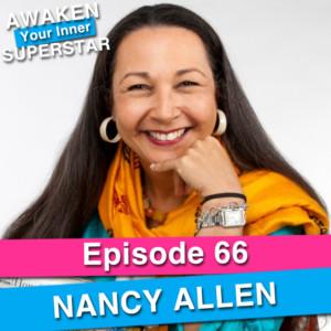 Nancy Allen on Awaken Your Inner Superstar with Michelle Villalobos